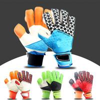 Wholesale 2016 Soccer Gloves Professional Soccer Goalkeeper Gloves Goalkeeper Football Gloves New Gloves Latex Professional Soccer Ball Gloves