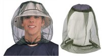 Wholesale Best price Generic Mosquito Bug Insect Bee Mesh Head Net Protect Hat Fishing Camping Hunting