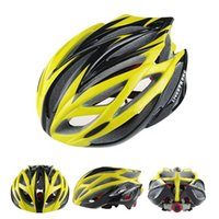 Wholesale Livestrong Cycling Helmet Super Light g Road Bike Cycling Helmet Men s Bike Parts Yellow Green Blue Orange red silver Yellow colors