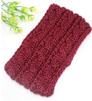 Wholesale The new arrived European and American girl headband Knitting wool headband Hair band In spot