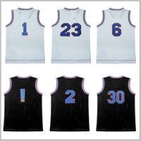 Wholesale Men d unk jersey J ord Men s air d unk S pace J am T une S quad stitched Embroidery S XXL