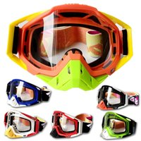 Wholesale High end off road goggles general size motorcycle racing goggles outdoor riding goggles skiing skiing glasses