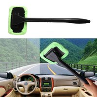 Wholesale 2017 hot salling Microfiber Windshield Wonder Cleaning Tool Car Glass Window Cleaner with Pads