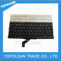Wholesale New for Apple Macbook Pro quot Retina A1425 RETINA UK Keyboard MD212 MD213 Good Working