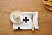 Wholesale New Table Napkin cotton Rectangle cm For Restaurant Home