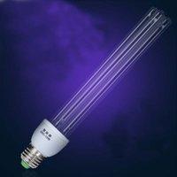 Wholesale Quartz lamps ultraviolet light germicidal lights uv lamp for home E27 ultraviolets terilization lamp medical sterilization