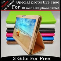 apple stock drops - Fashion fold Folio PU leather stand cover case for inch Octa core call phone tablet pc Colorful color have in stock