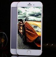 al por mayor los teléfonos del zopo 4g-Goofón i7 4.7 de la huella digital móviles 4G teléfonos inteligentes ultrafinos de la dual-tarjeta del teléfono miran zopo lte