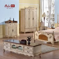 Wholesale American TV cabinet painted living room ground restoring ancient ways American rural contracted short TV cabinet m
