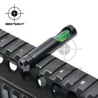 Wholesale Bubble Level For mm Weaved Picatinny Base Hunting Tactical Riflescope Scope Mounts Accessories Hunting Rifle Equipment