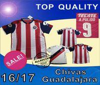 Wholesale 2016 Soccer Jersey Chivas Guadalajara soccer jerseys Deportivo soccer Shirts camisetas de futbol Chivas home and away Jersey SOCCER WEAR