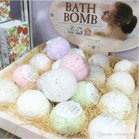 Wholesale Deep Sea Salt Body Essential Oil Moisturizing Bath Ball Natural Bubble Bath Bombs SPA Bath Accessories