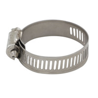 air hose clamps - 10pcs Stainless Steel Hose Clamps Pipe Clamp Air Water Tube Clips Fit House Size mm