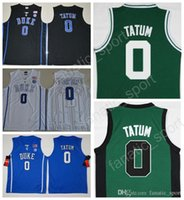2017 New MenCheap Duke Blue Devils College Jayson Tatum Jersey 0 Jayson  Tatum Basketball Jerseys Team Black Blue White Green Quality bd98802ef