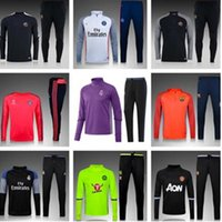 best fleeces - 3 England Soccer Tracksuit Best Quality Long sleeve Training suits for Football uniforms