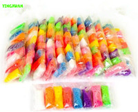 Wholesale 5packs Color Snow Pearl Clay Bag for White Mold Painting Decoration Handmade DIY Art Craft Materials for Kids