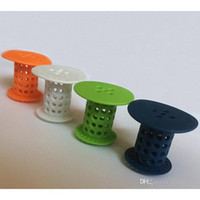 Wholesale New Strainers Hair Catcher TubShroom The Revolutionary Shower Tub Drain Protector Hair Strainer Snare Hair Tub Catcher Strainer Protector