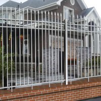 Wholesale we can offline transactions Iron Door Garden Buildings Patio Lawn Garden Home Arches Arbours Patio fence Trellis Gates Garden Buildings no8