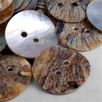 Wholesale 50pcs Mother of Pearl MOP Round Shell Buttons Craft mm Hademade Sewing Accessories Clothes Coat Hats DIY Decorative Buttons