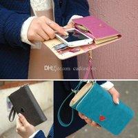 bart cards - cute wallet for teen girls Pu Leather CellPhone Card Holder Coin Bag Long Purse Wallet Handbag Case C00837 BART