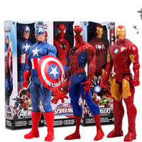 Wholesale Hot sale Super hero Avengers Spiderman Green Goblin PVC Action Figure Collectible Toy Captain America wolverine action figure inch Z643
