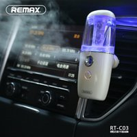 Wholesale REMAX Car anion humidifier RT C03 Portable humidifier Car Air Freshener Air humidification use in Car air conditioning port hot sales