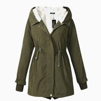 Wholesale 2016 Casual Large Size Winter Coat Women Down Jacket New Long Plus Velvet Parka Hooded Thicken Warm Jackets Female Cardigan H63