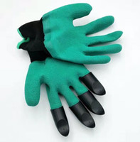 Wholesale 10pairs New Garden Gloves For Digging Planting No More Worn Out Fingertips Unisex Claws
