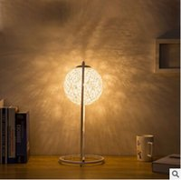 Wholesale 2016 new classical simple creative Ma ball Nightlight bedroom bedside lamp lamp dimming lamp iron Yang