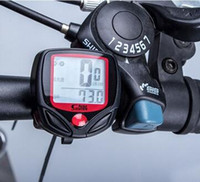 Wholesale Waterproof Bike Computer Bicycle Meter Odometer Speedometer With LCD Display Cycling Computer Velocimetro Wired Stopwatch