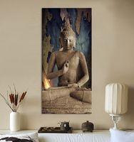Wholesale buddha art canvas Wall art buddha Picture landscape Canvas painting Modern living room Decorative
