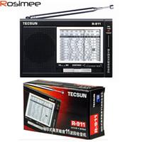Wholesale Tecsun R FM AM SW World Band Radio High Sensitivity Receiver Radio FM Y4127L Digital Demodulation Stereo Radio R911