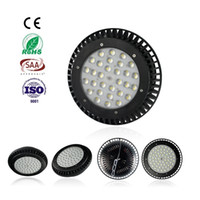 Wholesale CREE Led High Bay Light W W W W UFO High Bay Industrial Lighting for warehouse work shop lighting UL FCC