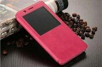 Wholesale Cove Case S4 - For Samsung S7 S7 Edge Note 7 S6 S6 Edge S6 Edge Plus S5 S5 MINI S4 PU Flip Leather Phone Case Cove Bag With View Window