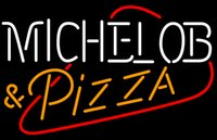 beer pizza - New Michelob PIZZA Glass Neon Sign Light Beer Bar Pub Sign Arts Crafts Gifts Lighting Size quot