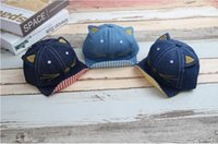 Sombreros de bebé gorras gatos de vaquero topi private label soft beads