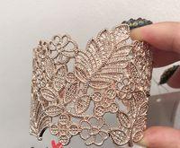 baroque bracelet pattern - Min Order mix order Bohemia goddess Baroque metal hollow pattern Br Bracelet Free Gift Party Accessor