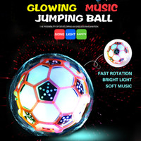 Plastic Cement ball jump toy - Crazy dancing music jumping ball hot glowing toys new peculiar children creative dancing bouncing ball