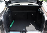 Wholesale Waterproof shockproof PU leather folding car trunk mat For Landrover Evoque