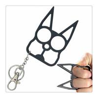 Cheap Metal,Nylon Plastic Self Defense Keychain Best KZWMYSLB0001 40191026238/521360307278 Dog Skull KeyChain