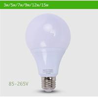 Wholesale LED Bulb Lamp E27 W W W W W W Cold White Warm White V V V