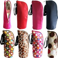 Wholesale Scolour New Baby Thermal Feeding Bottle Warmers Mummy Tote Bag Hang Stroller