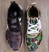 bathing shoes - 2016 New arrival NMD XR1 BATHING BA7325 BA7326 Green Black Purple CAMO NMD_XR1 Camo NMD Men Running Shoes Box Receipt Keychain
