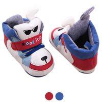 baby shoe bracelet - 2016 M lovely Baby slippers Soft Sole Crib Warm Walker Shoes sneaker footwear for boy football boots with ankle bracelet