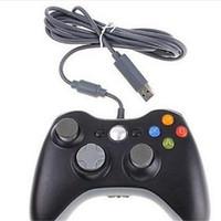 Precio de Joystick usb-Nuevo Xbox 360 Playstation controlador Gamepad USB con cable Joypad XBOX 360 PC uso Joystick Game Controllers para ordenador portátil PC