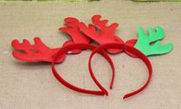 Wholesale Creative Christmas hoop children ornaments props lovely hat headband special offer Christmas decorations Christmas Ornament children