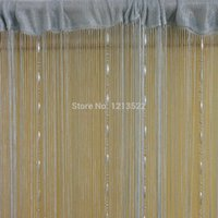bamboo room screens - Colors Romantic String Curtain With Crystal Tassel Curtain Decorative Door Screen Window Curtains Blinds for Bed Room Divider