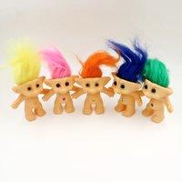 Wholesale Troll Doll action figure Leprocauns Dam doll Original Monster Troll Toy for children gift