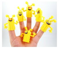 Unisex australia fish - piece christmas mini emoji toy animal family finger puppets set fish australia princess bug boys girls finger puppets