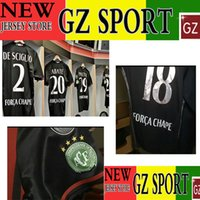 Wholesale match worn AC player version jersey cuatomize Chapecoens patch